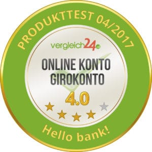 Hello bank Girokonto Test