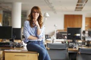 Job und Gehalt - business-frau