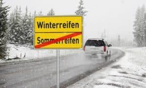 Winterreifenpflicht: Keine Sommerreifen im Winter