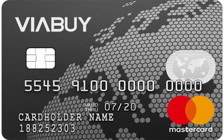 VIABUY Mastercard Prepaid Kreditkarte